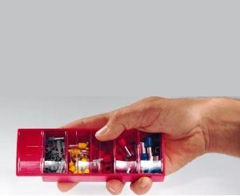 S20205RD Ferrule Slide Box